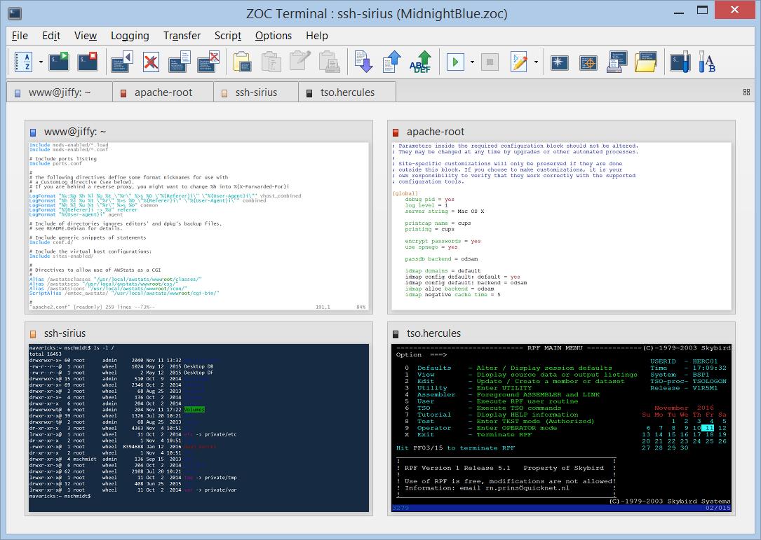 reflection terminal emulator for mac
