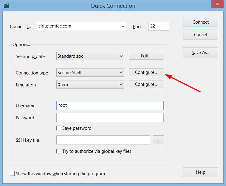 SSH X11 Forwarding - ZOC: A modern SSH client for secure
